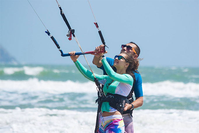 Kiteboarding lessons for any level