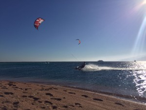 South Wind in Dahab Lagoon